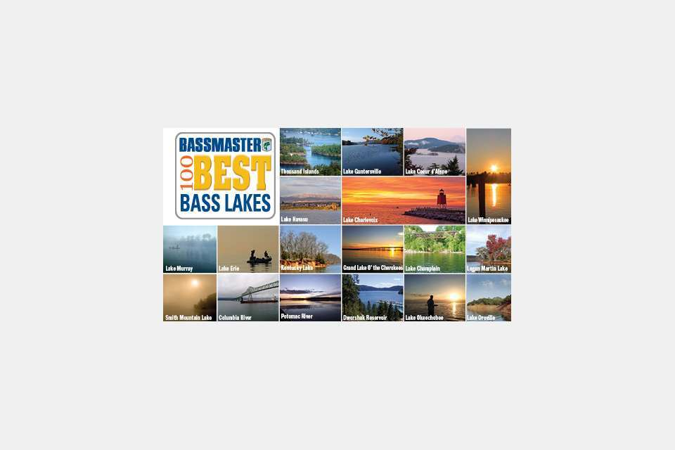 100 Best Bass Lakes of 2013
