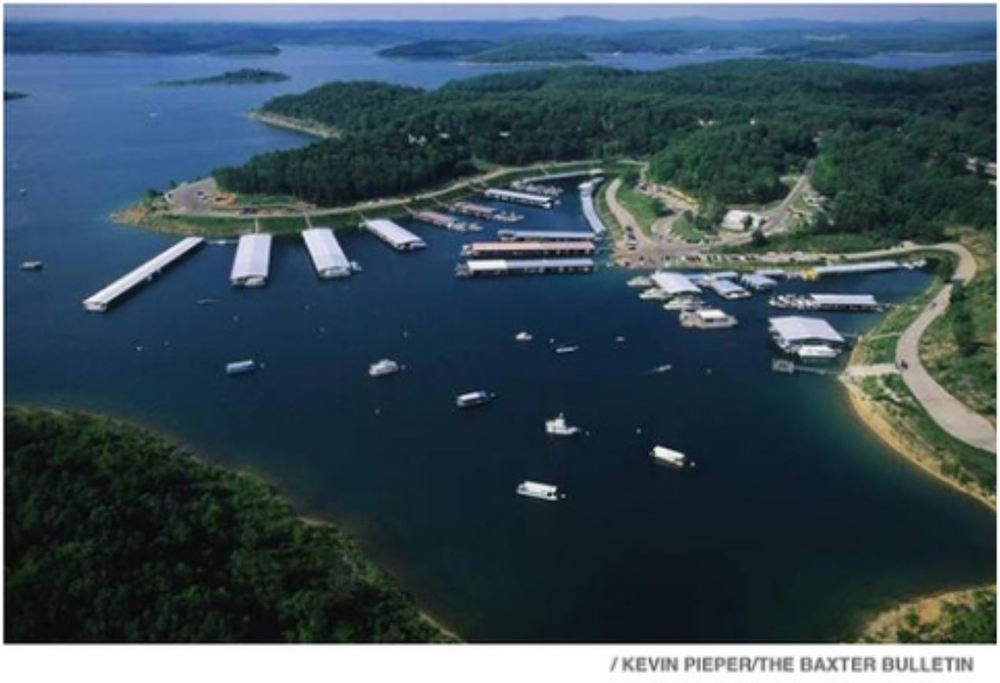 Bull Shoals Lake - photo provided by Kevin Pieper/Baxter Bulletin